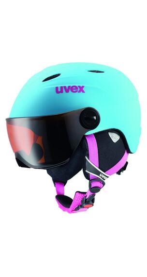 UVEX Junior visor pro Helmet liteblue mat